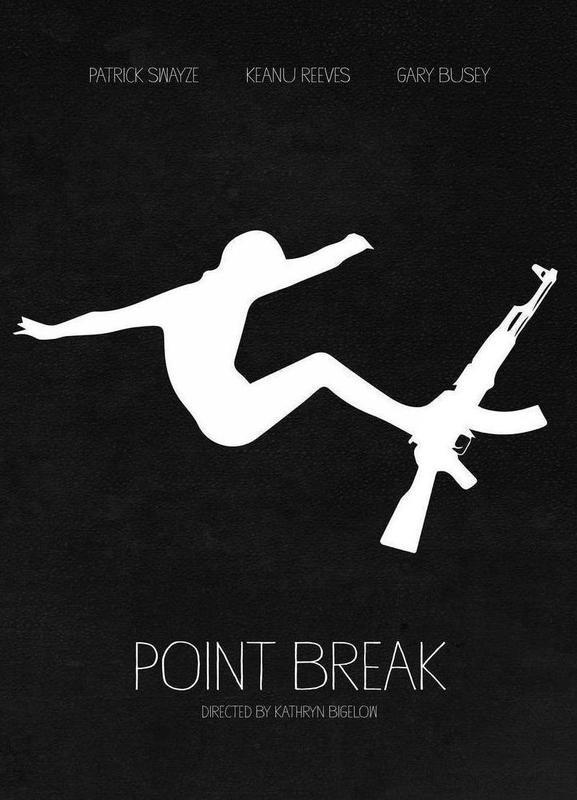 Point Break -Leinwandbild