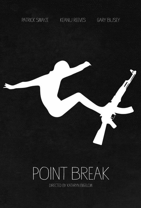 Point Break -Acrylglasbild