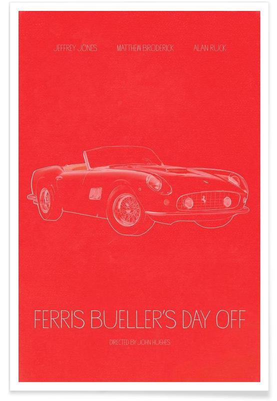 Films, Ferris Bueller's Day Off affiche
