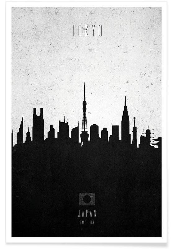 Tokyo Contemporary Cityscape affiche