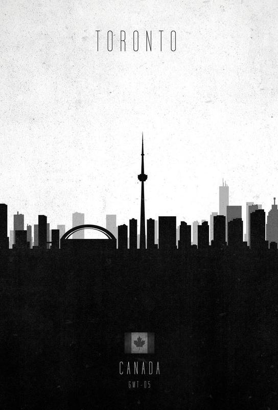 Toronto Contemporary Cityscape -Acrylglasbild