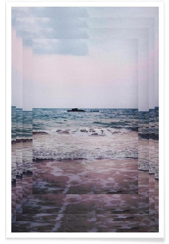 Abstrakte Landschaften, The Secret Sea III -Poster