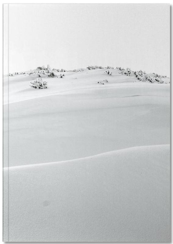 Mountains, Black & White, Dirft II Notebook