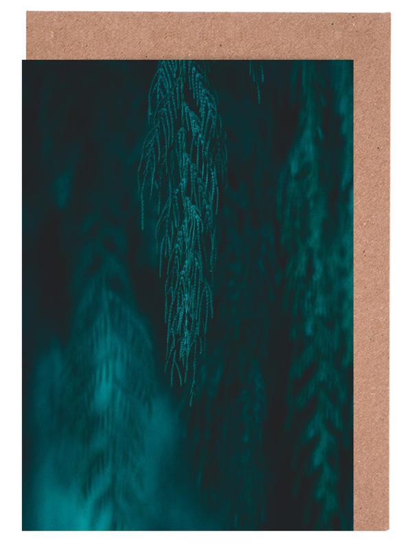 Bäume, Willow III -Grußkarten-Set