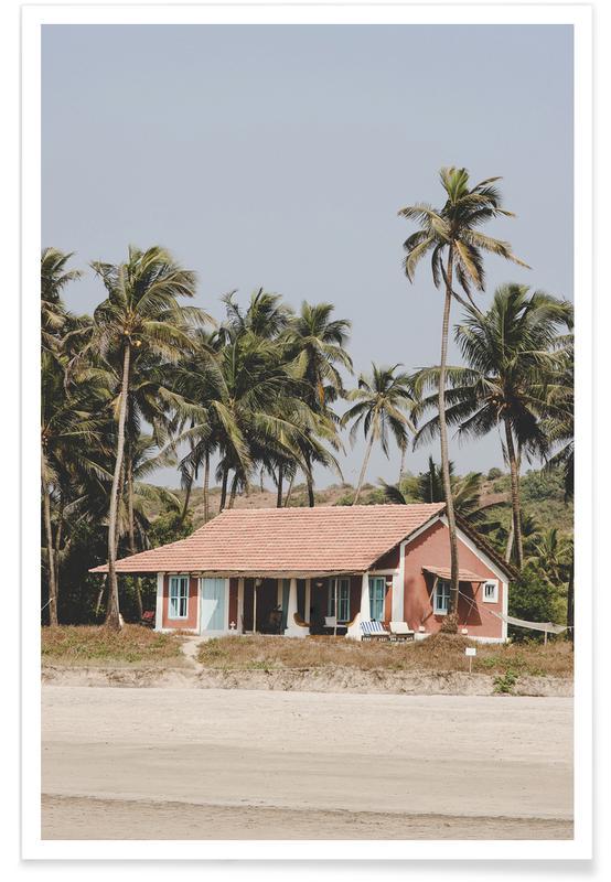 Plages, Palmiers, Beach House affiche