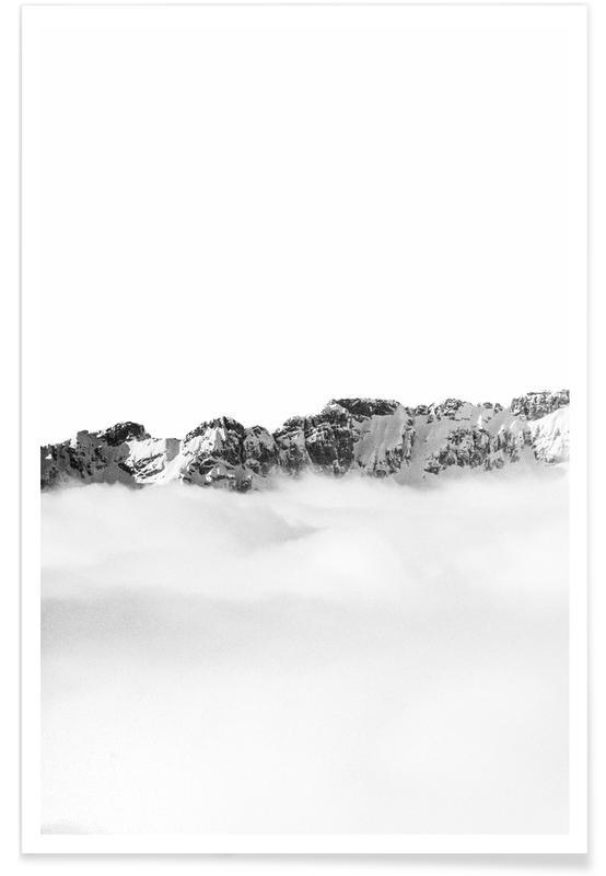 Abstracte landschappen, Divide poster