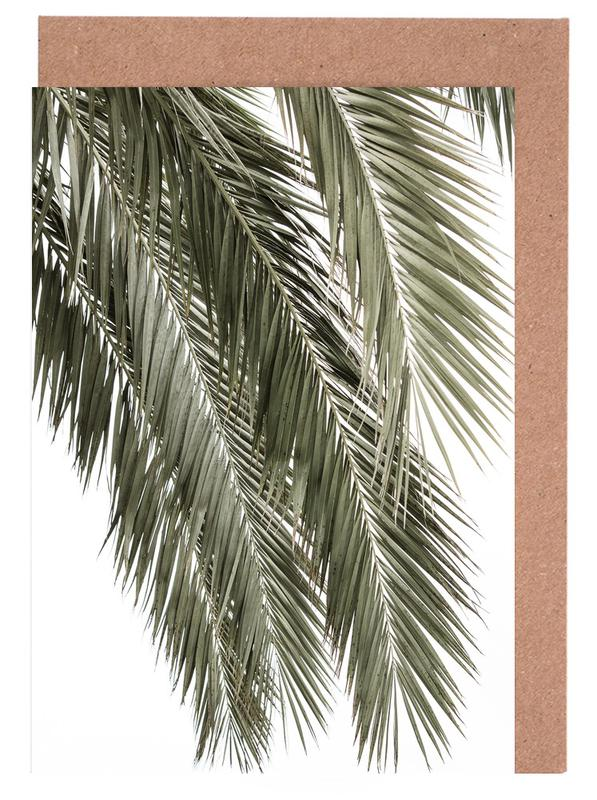 Palmen, Palms -Grußkarten-Set