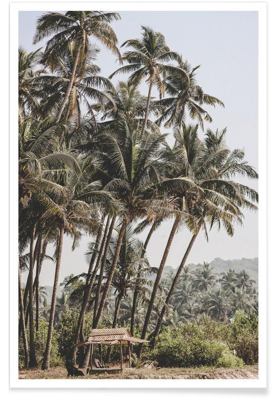 Voyages, Palmiers, Jungle I affiche