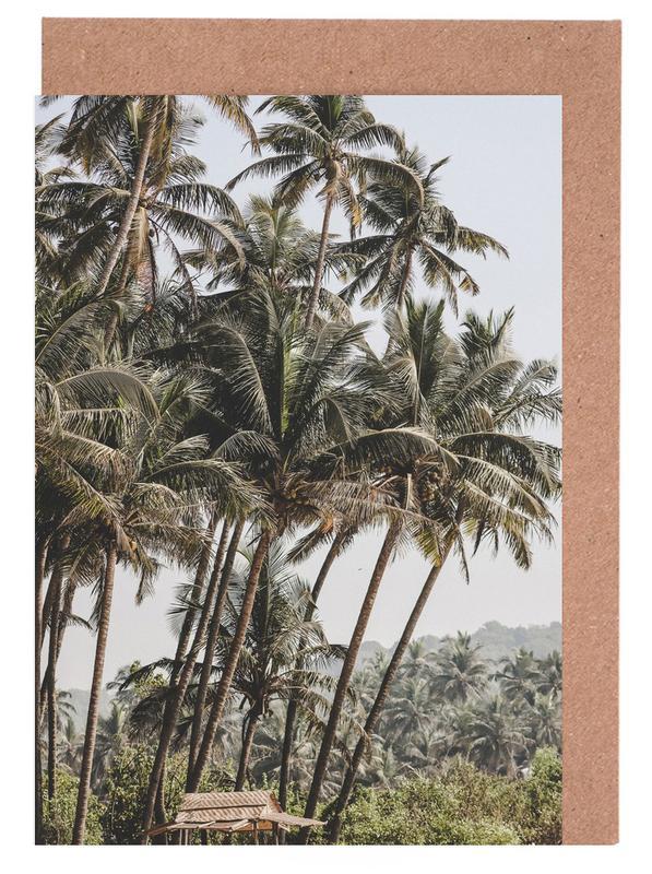 Reise, Palmen, Jungle I -Grußkarten-Set