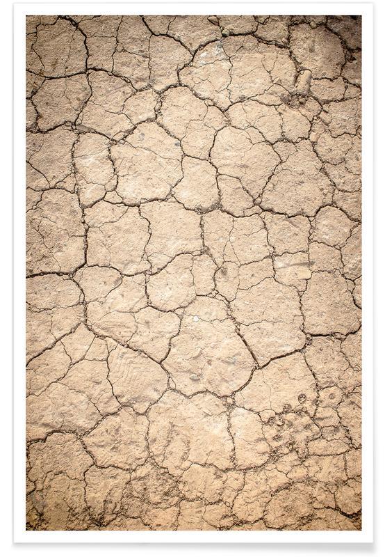 Paysages abstraits, Plages, Desert Sand affiche