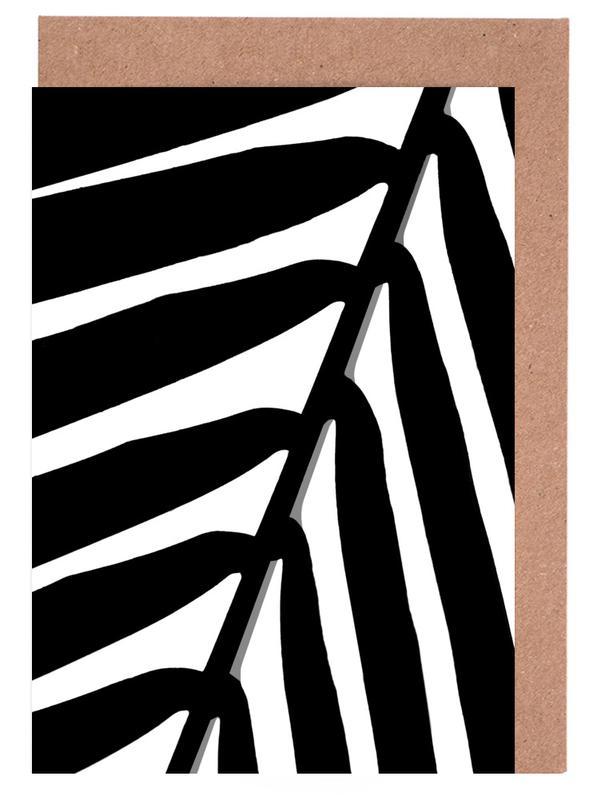 Palmen, Botanical Shade -Grußkarten-Set