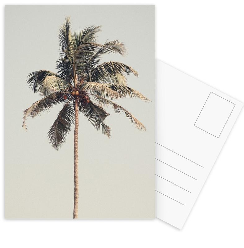 Palmen, Palm Tree By The Beach -Postkartenset