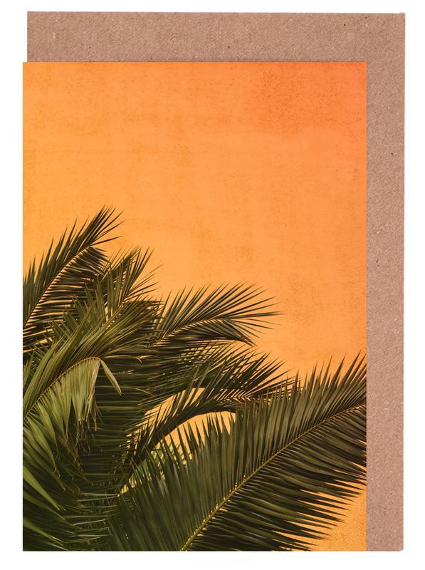 Palmen, Palm II -Grußkarten-Set