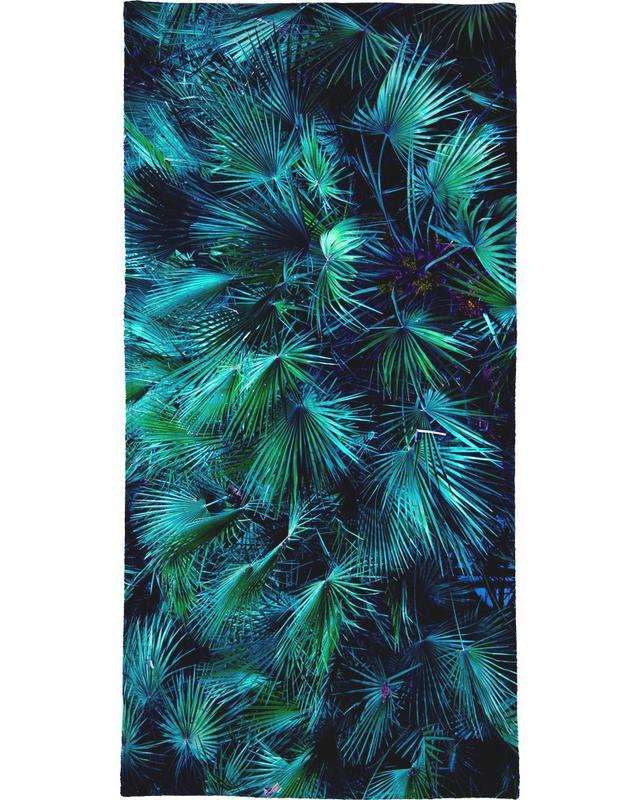Amoung the Palm Leaves Bath Towel