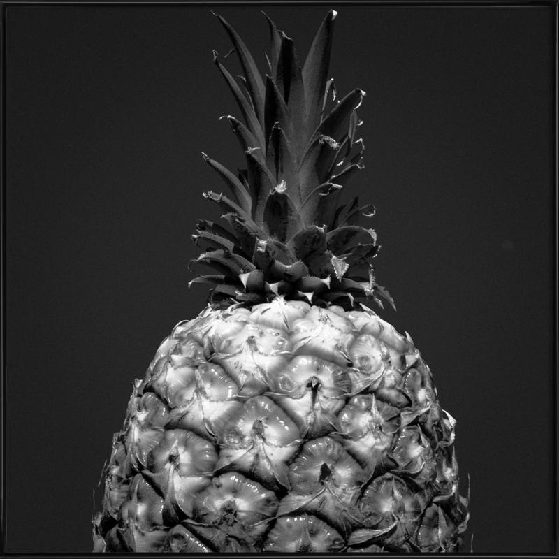 Ananas ingelijste poster