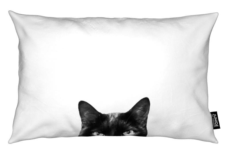 Noir & blanc, Chats, Caught in the Act coussin