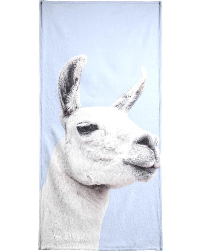 Blue Llama II serviette de bain