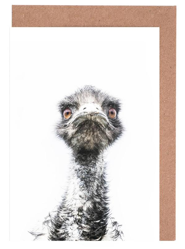 Emu cartes de vœux