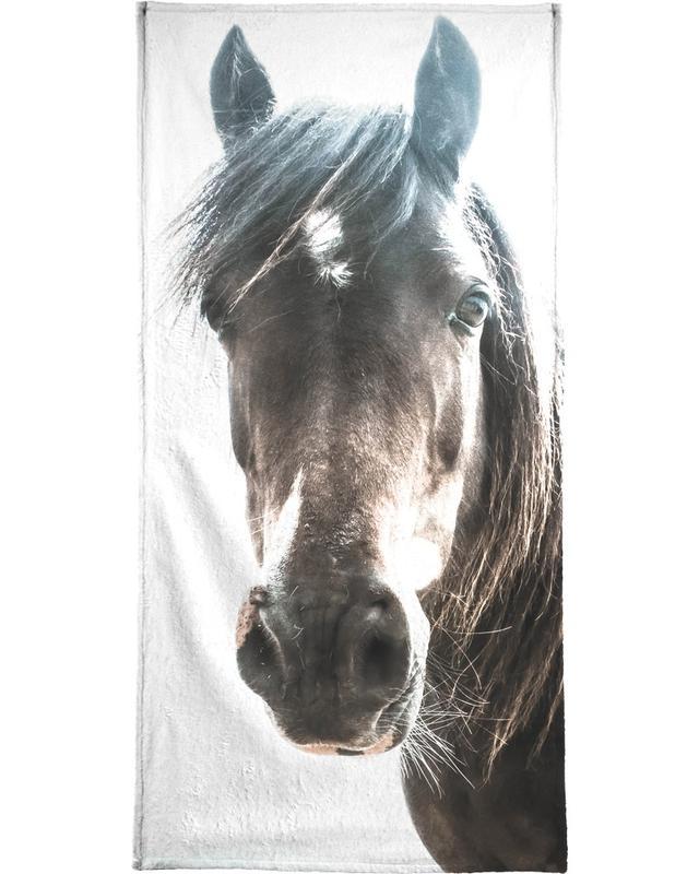 Horse serviette de plage