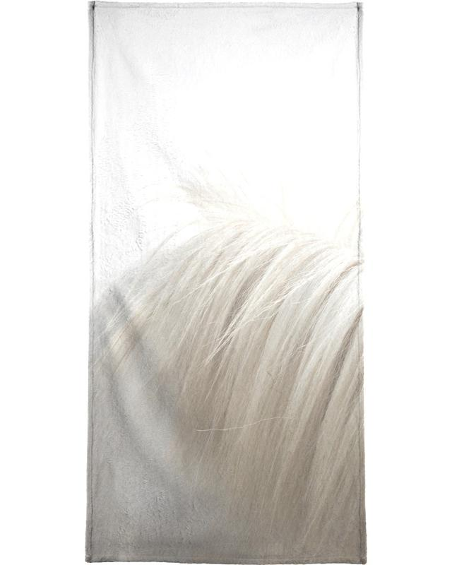Horses Mane Beach Towel