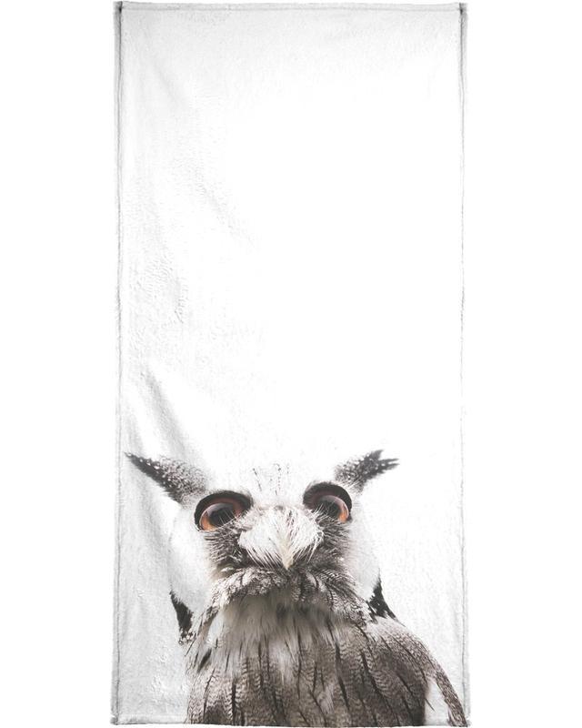 Art pour enfants, Lil Owl serviette de plage