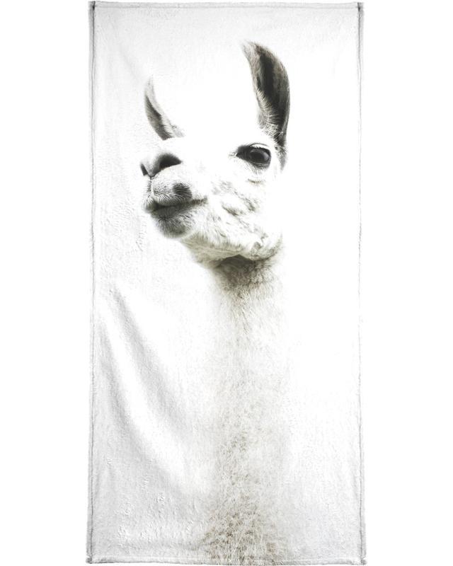 Llama I serviette de bain