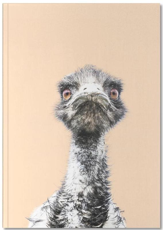 Orange Emu Notebook