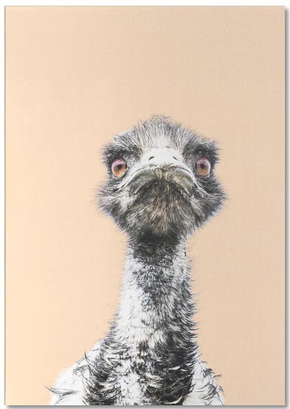 Orange Emu bloc-notes
