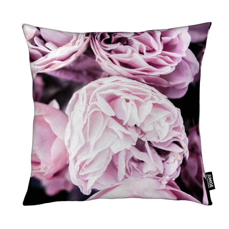 Pink flowers II coussin