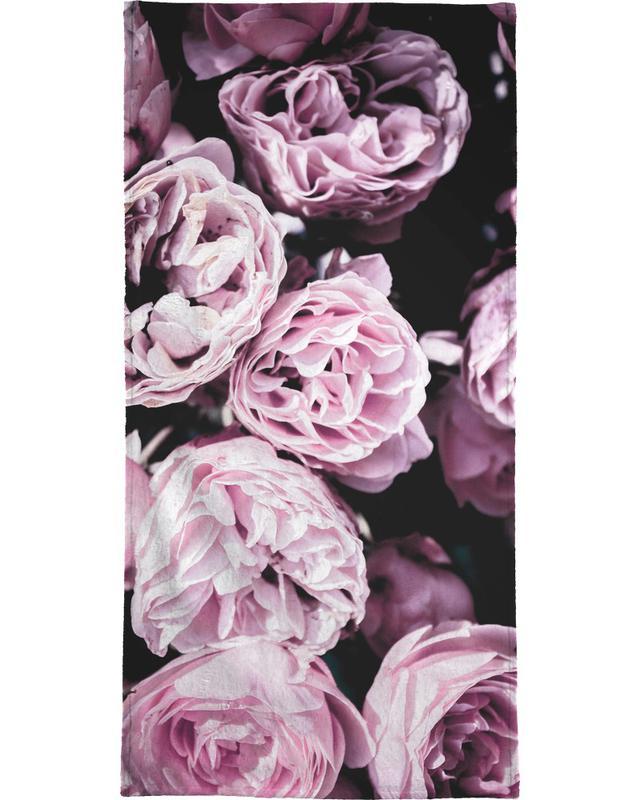 Pink Flowers III serviette de plage