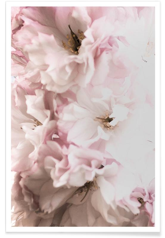 Pink Flowers affiche