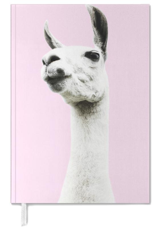 Llamas, Nursery & Art for Kids, Pink Llama Personal Planner