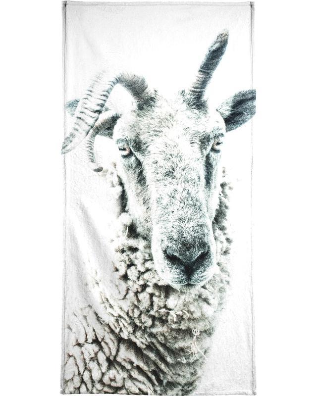 Sheep Beach Towel