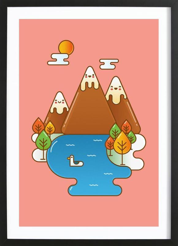 Sweet Mountain Framed Print