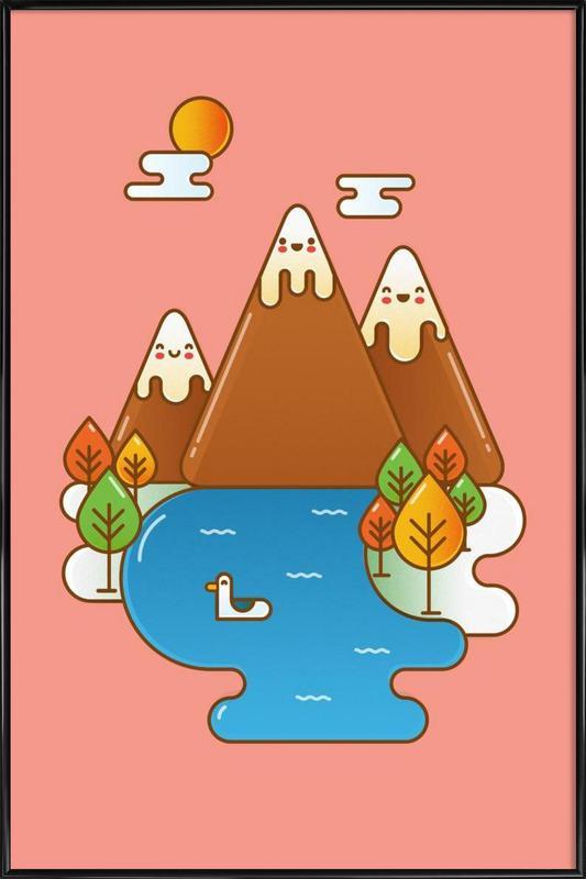 Sweet Mountain ingelijste poster