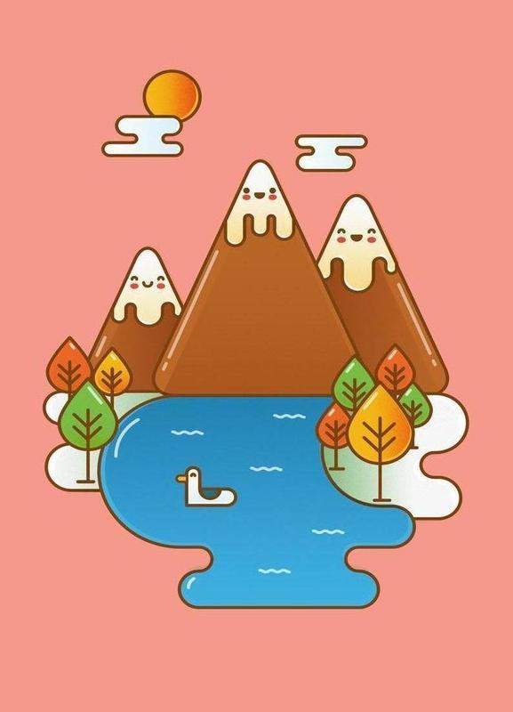 Sweet Mountain Canvas Print