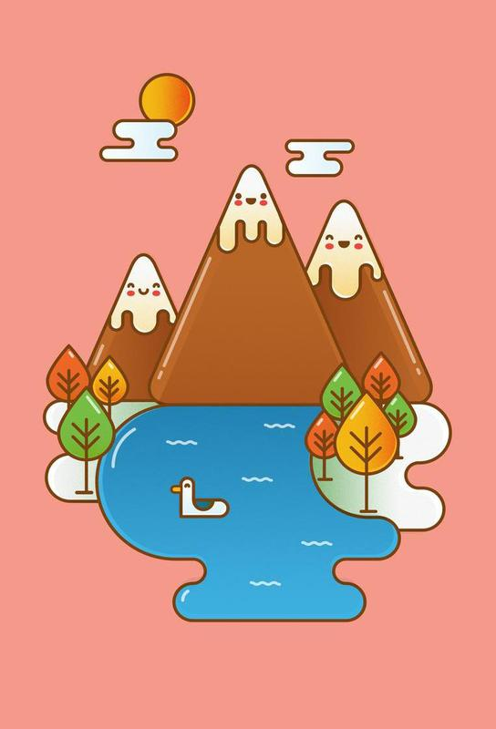Sweet Mountain Acrylic Print
