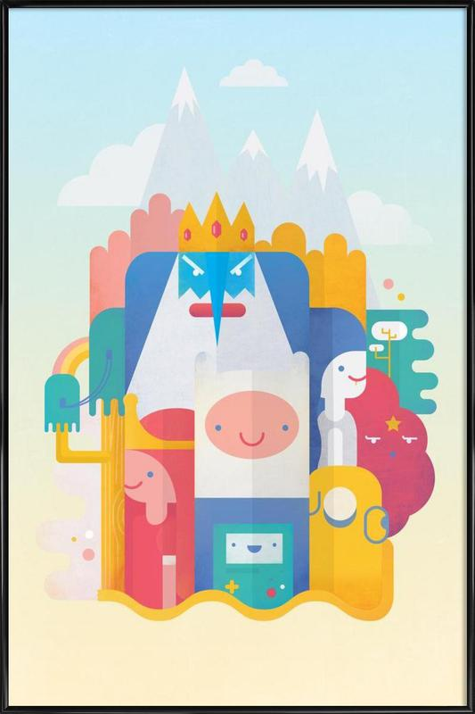 Adventure Time Framed Poster