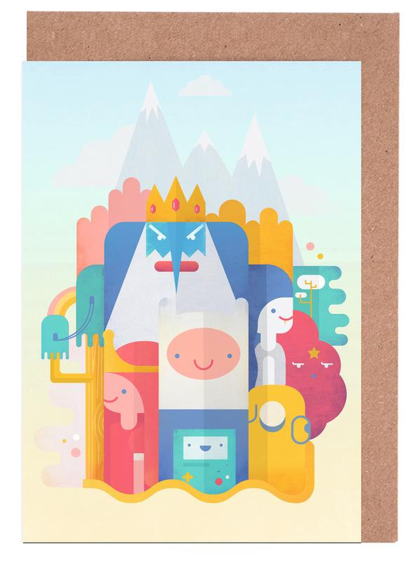 Adventure Time Greeting Card Set