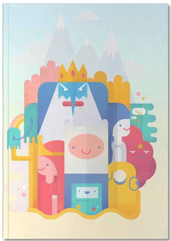 Films, Art pour enfants, Adventure Time Notebook