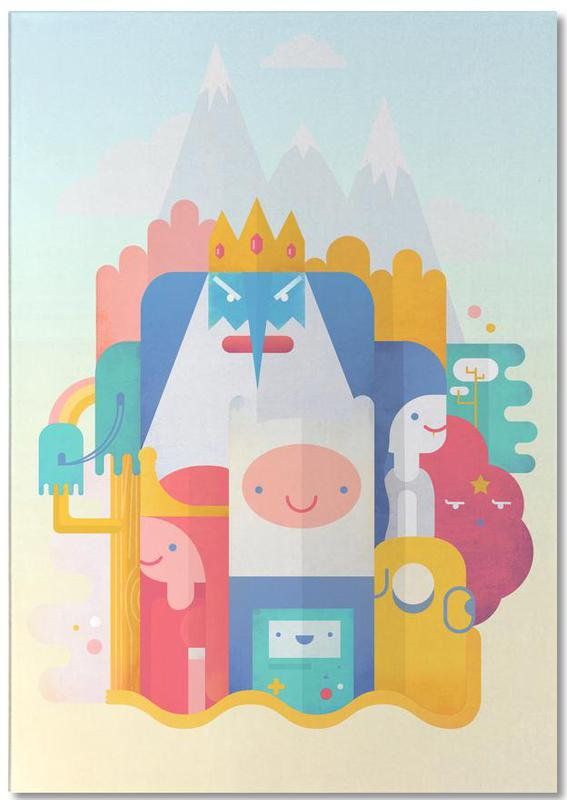 Adventure Time Notepad