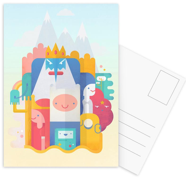 Adventure Time Postcard Set