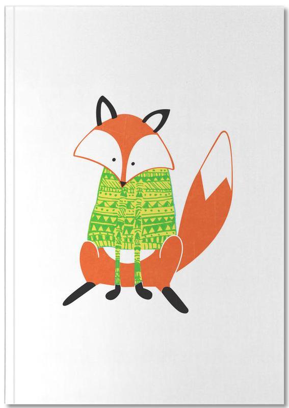 Shirt Fox Notebook