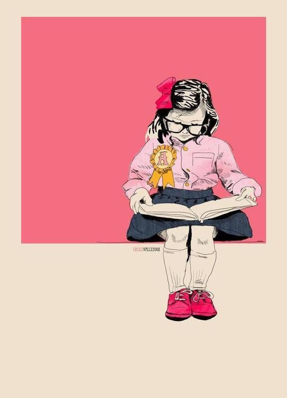 Good Girl -Leinwandbild
