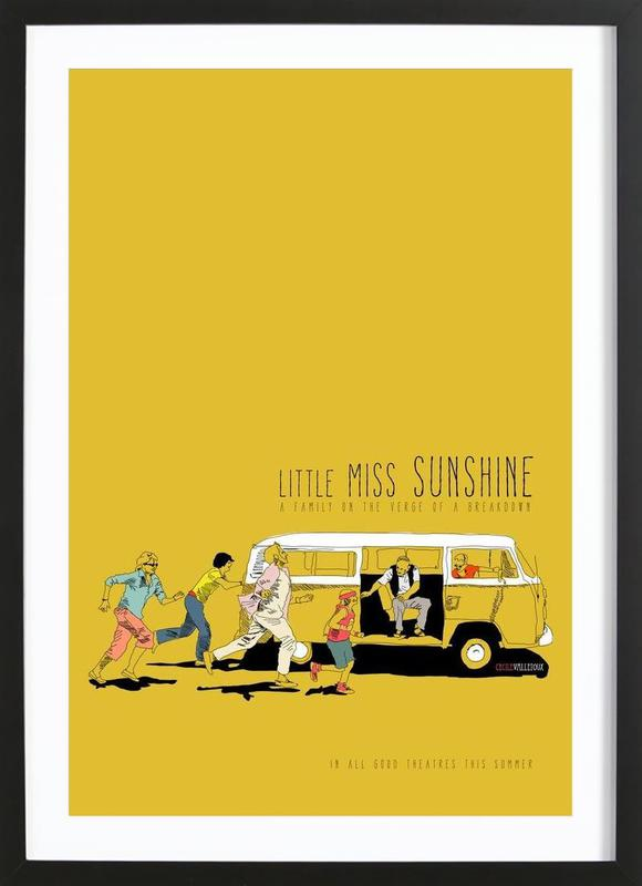 Little Miss Sunshine ingelijste print