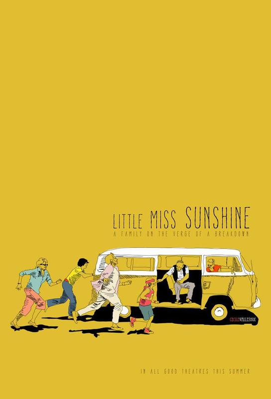 Little Miss Sunshine acrylglas print