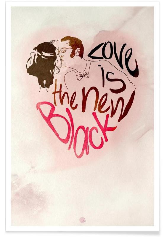 Liefdescitaten, The New Black poster