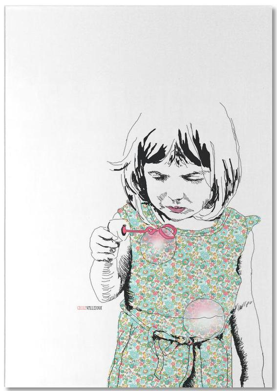 Bubble Girl Notepad
