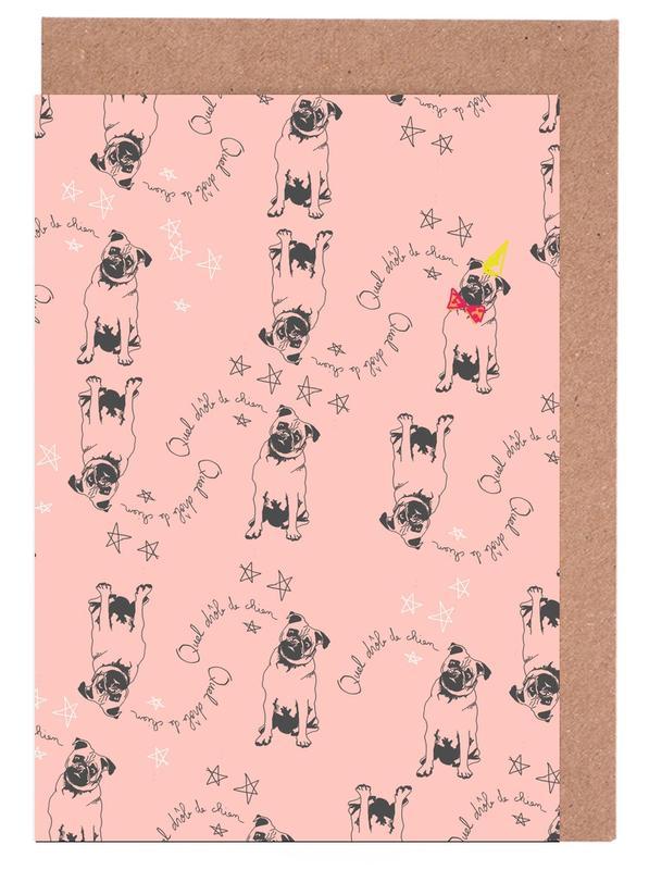 Drole de Chien Greeting Card Set