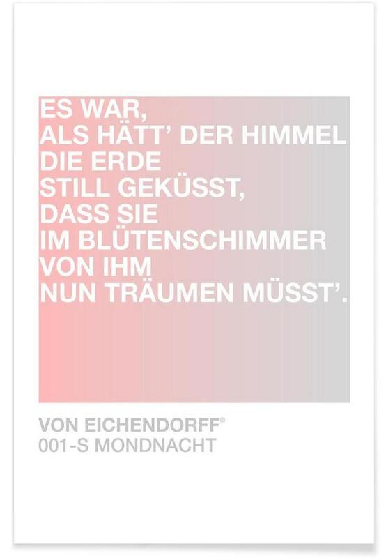Mondnacht Light 01 -Poster